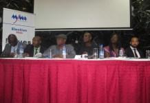 NMC Panelists at the forum