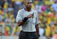 Gabonese referee Otogo-Castane