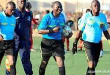 Ghanaian Referee