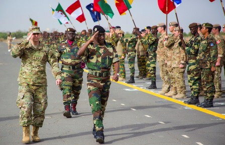 AFRICOM operation in Senegal, Feb. 2016