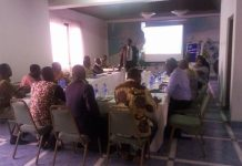 Dr. Yaw Osei Adutwum speaking to the PROs at the workshop