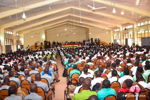 Veep launches Free SHS in Tamale
