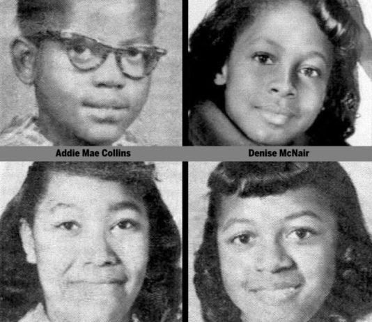Birmingham 16th Street Baptist Church bombing victims in September 1963