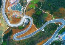 newlybuilt roads of Nanmen village