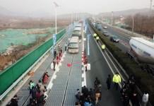 China's solar expressway