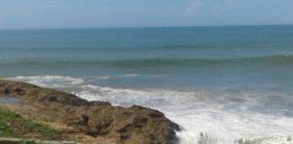 Coastline Threat (sea defence wall)