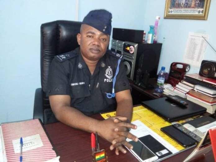 Chief Superintendent Joseph Owusu Bempah, Tema Police Regional Motor Traffic and Transport Unit (MTTU) Commander