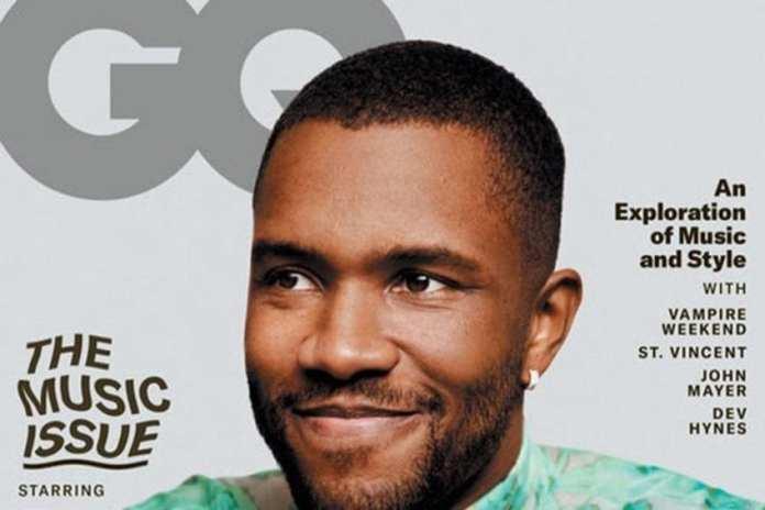 Frank Ocean covers GQ Magazine