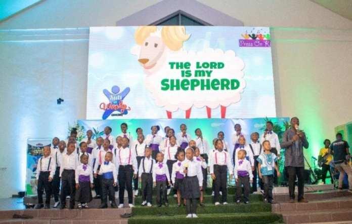 Kids in Worship Concert