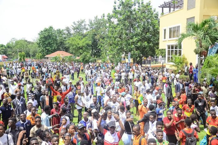 A Cross Section Of Qnet Kumasi Expo Participants