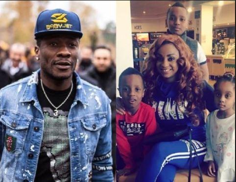 Asamoah Gyans Wife And Kidz