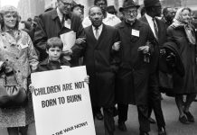 Dr Martin Luther King Jr And Dr Benjamin Spock At Un Demonstration Against Vietnam War April