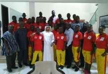 Special Olympics Ghana Team