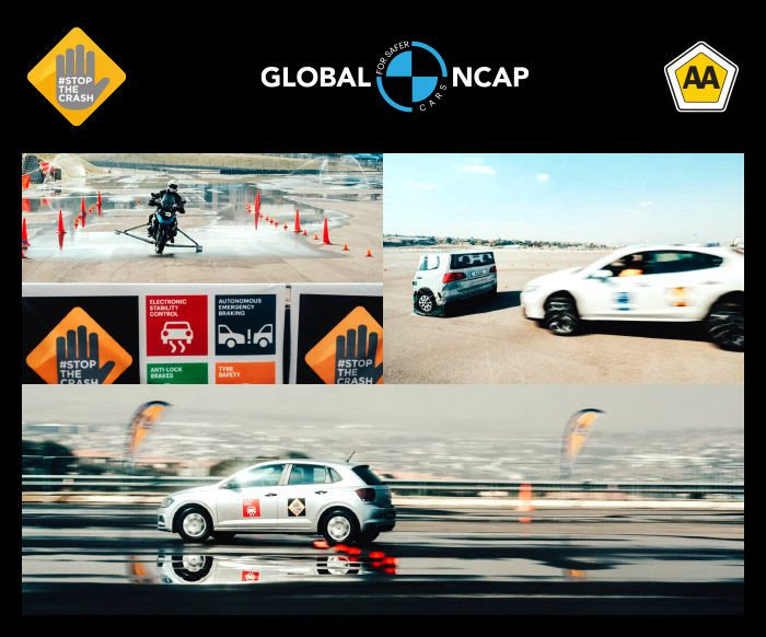 #StopTheCrash Campaign for Car and Motorcycle