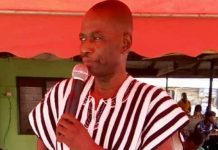 Retired Police Superintendent Peter Lanchene Toobu