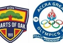 Hearts v Olympics