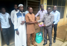 Mr Seth Kwame Acheampong donation