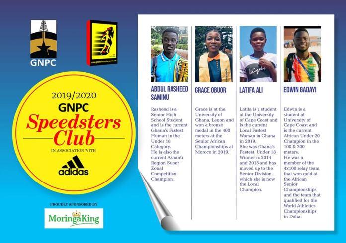 2019/2020 GNPC Speedsters Club