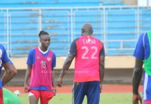President Weah Trains With Lone Star