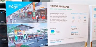 Takoradi Mall was EDGE certified by SGS thinkstep in December 2018