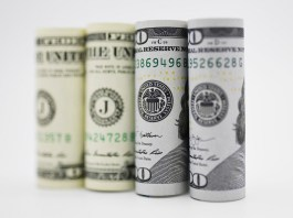 Photo taken on Sept. 18, 2019 shows U.S. dollar banknotes in Washington D.C., the United States. U.S. Federal Reserve on Wednesday lowered interest rates by 25 basis points amid growing risks and uncertainties stemming from trade tensions and a global economic slowdown, following a rate cut in July that was its first in more a decade. (Xinhua/Liu Jie)