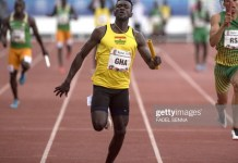 Ghanaian sprinter Joseph Paul Amoah