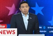 U.S. entrepreneur Andrew Yang