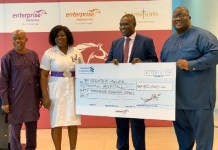 Enterprise Group Donates To Noguchi Ghs To Control Covid