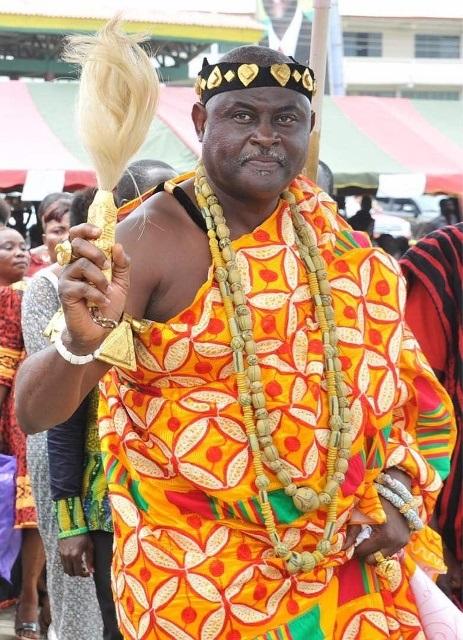 Nii Okwei Kinka Dowuona Vi Paramount Chief Of The Osu Traditional Area