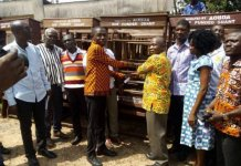 Aob Presents Dual Desks To Education Directorate