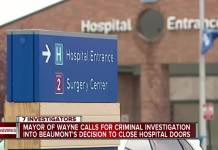 Beaumont Hospital In Wayne Michigan Closes Amid Covid Pandemic