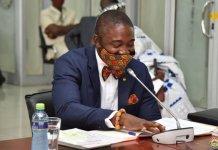 Dr Bernard Okoe Boye Deputy Health Minister