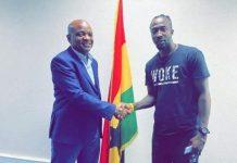 Hearts of Oak sign Nigerian striker Danjuma Ademola Kuti