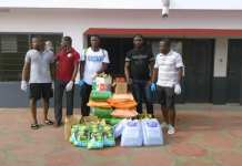 Pro Fighting Factory Ghana Donates