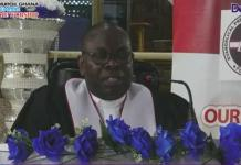 Right Reverend Dr Senyo S Agidi Moderator Of General Assembly Of The E P Church