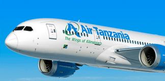 Air Tanzania Boeing
