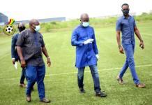 Ghana FA tours