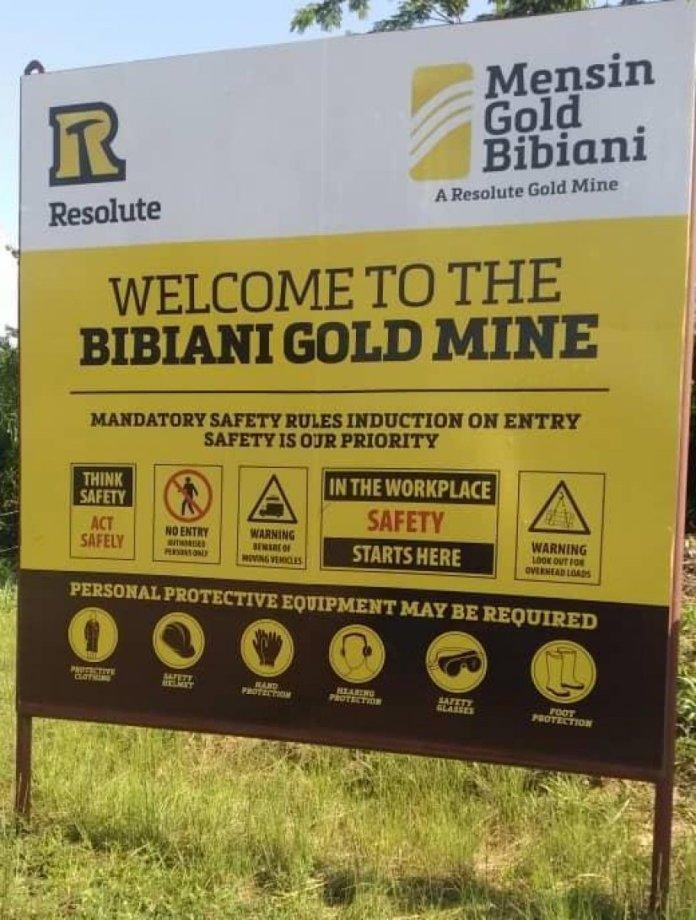 Mensin Gold Bibiani Limited