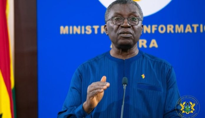 Professor Kwabena Frimpong Boateng Minister Of Environment Science Technology And Innovation