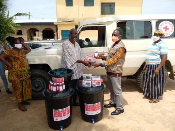 Red Cross Donates To Some Communities In Central Region
