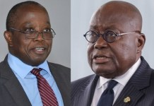 Daniel Yaw Domelevo And Akufo Addo