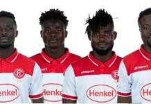 4 Ghanaian Players