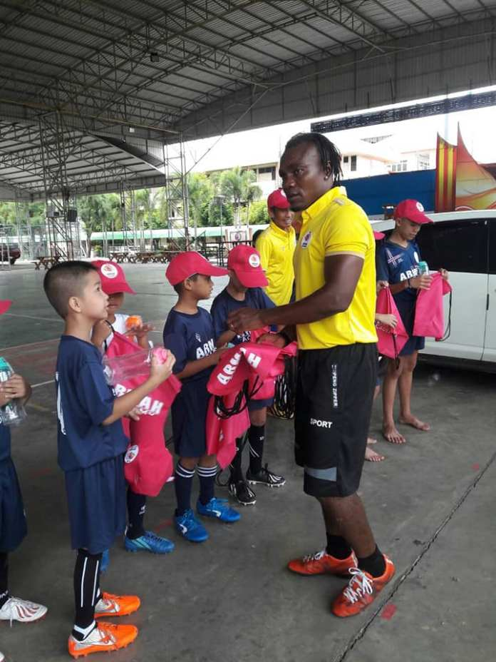 Abraham Armah launches Academy
