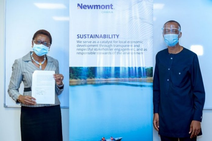 Newmont Ghana And Kccr Sign Million Cedi Mou