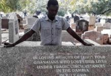 Survivor Of Massacre Of Ghanaians In The Gambia