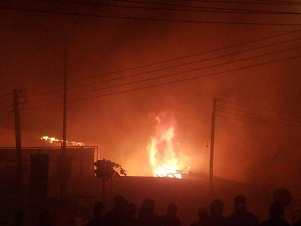 Fire erupts in building near Beirut's port, cause unclear