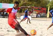 Ghana Beach Soccer Clubs