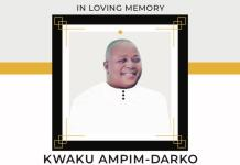 Late Kwaku Ampim Darko