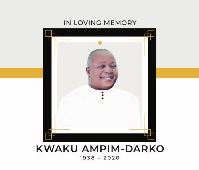 Late Kwaku Ampim Darko