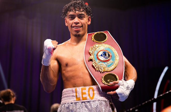 Angelo Leo crowned WBO Super-Bantamweight World champion after overriding win over Tramaine Williams